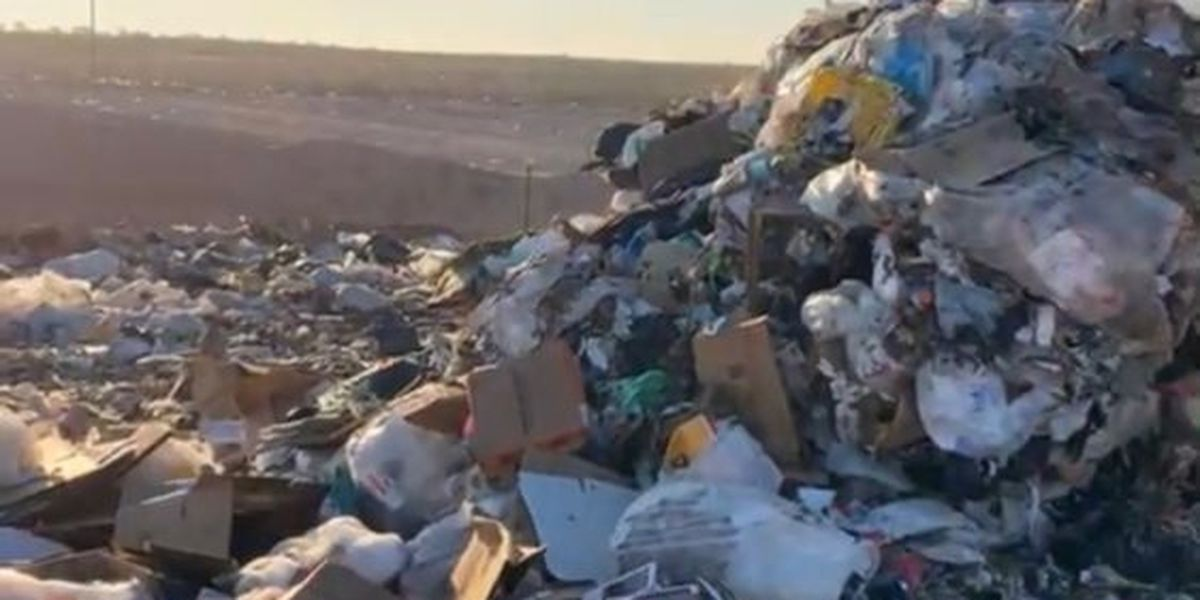 Man survives ride in garbage truck from Lubbock to Meadow landfill