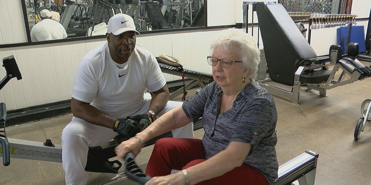 89-year-old Lufkin resident works out three times a week to keep independence
