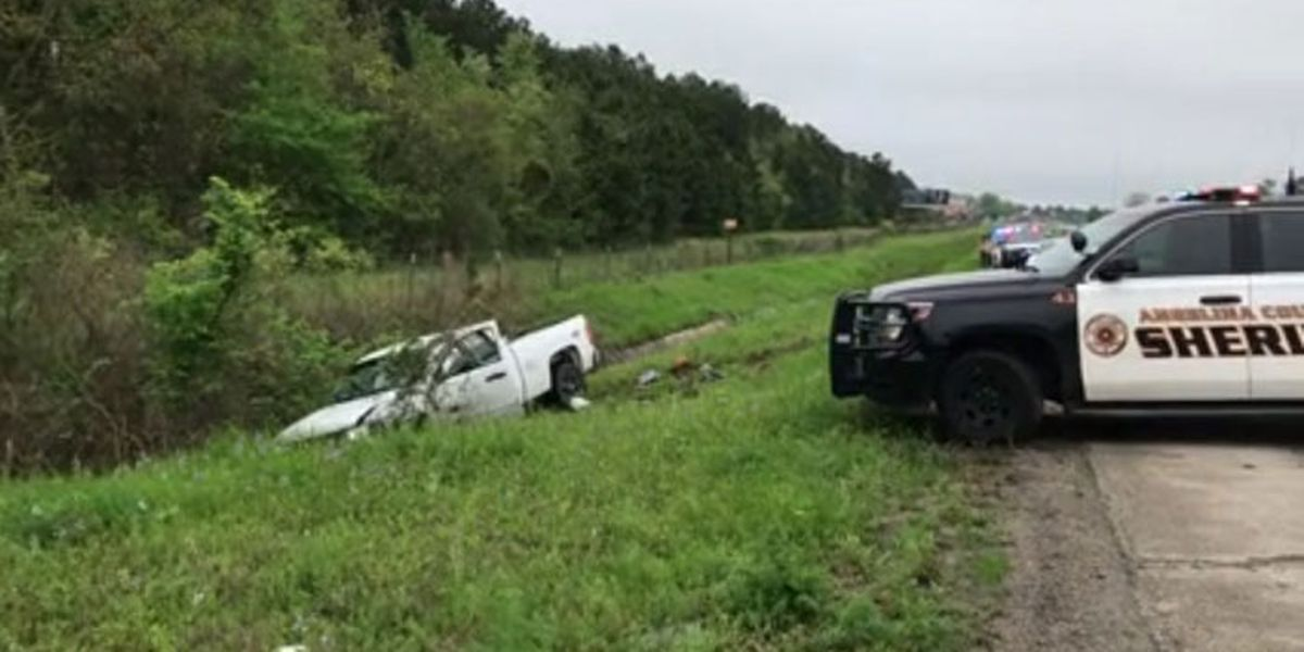Multiple-county chase ends in Angelina County, suspect now in custody