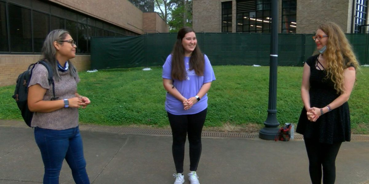 SFA student group hosts survivor for Holocaust Remembrance Day