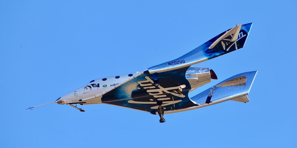 Virgin Galactic successfully launches tourism rocket ship into space for first time