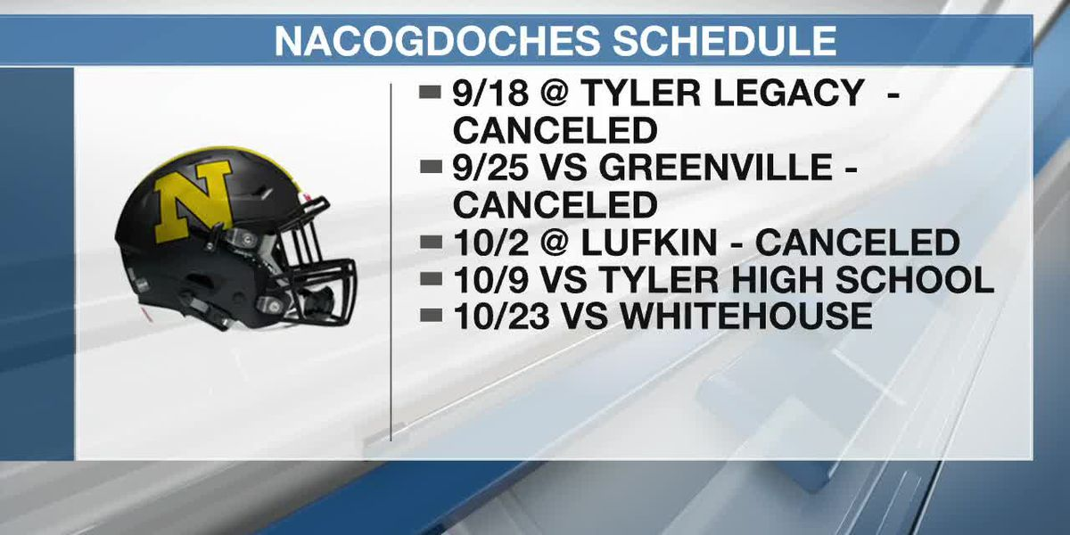 Nacogdoches High School football on hold due to COVID-19 case