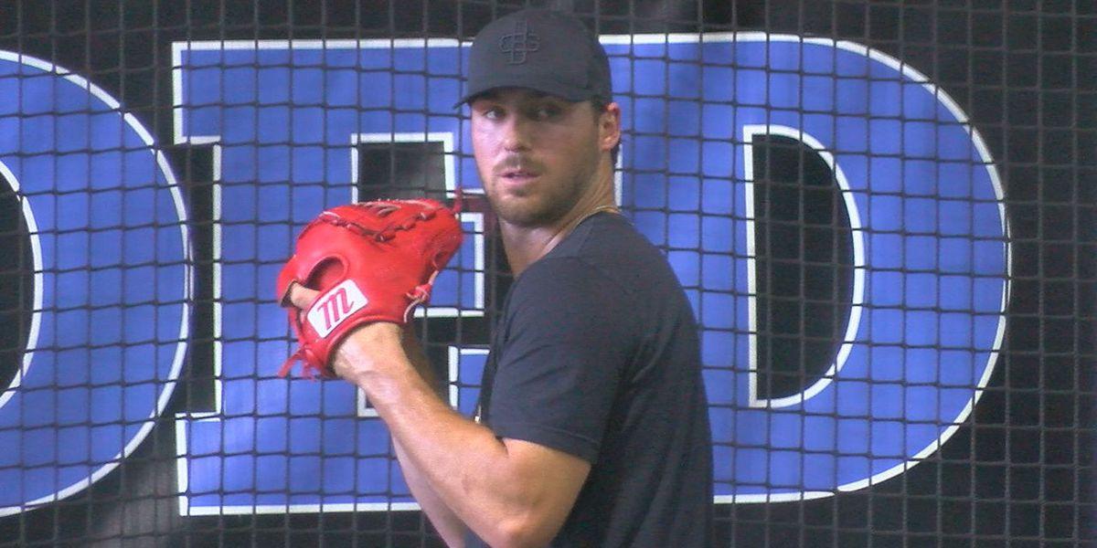 Hudson's Riley Smith to make first MLB start Saturday