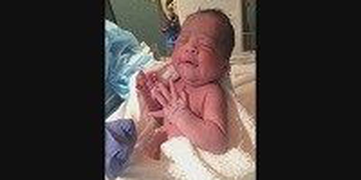 Nacogdoches welcomes their first baby of 2015
