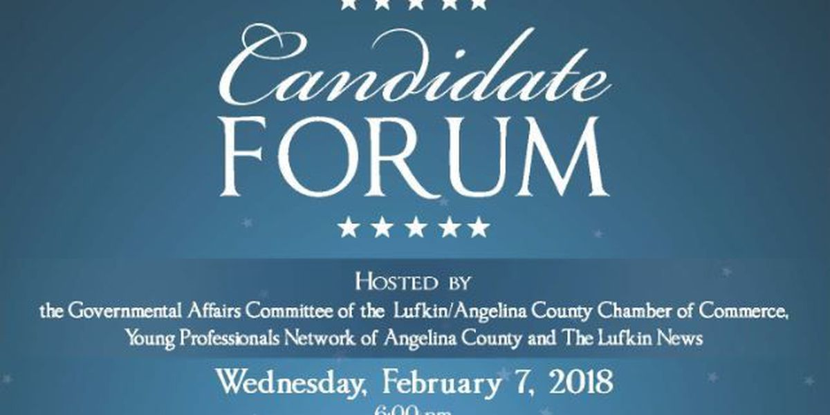Lufkin-area organizations to host forum for primary candidates