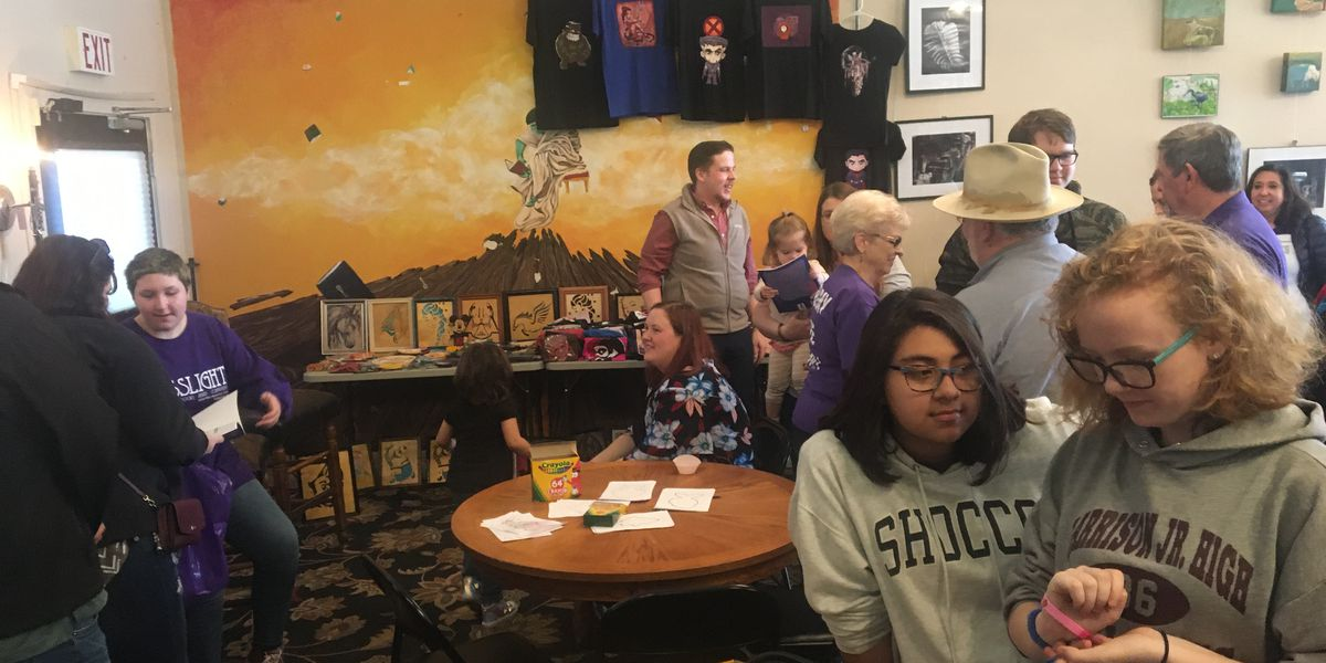 Author and illustrator host book signing in Nacogdoches