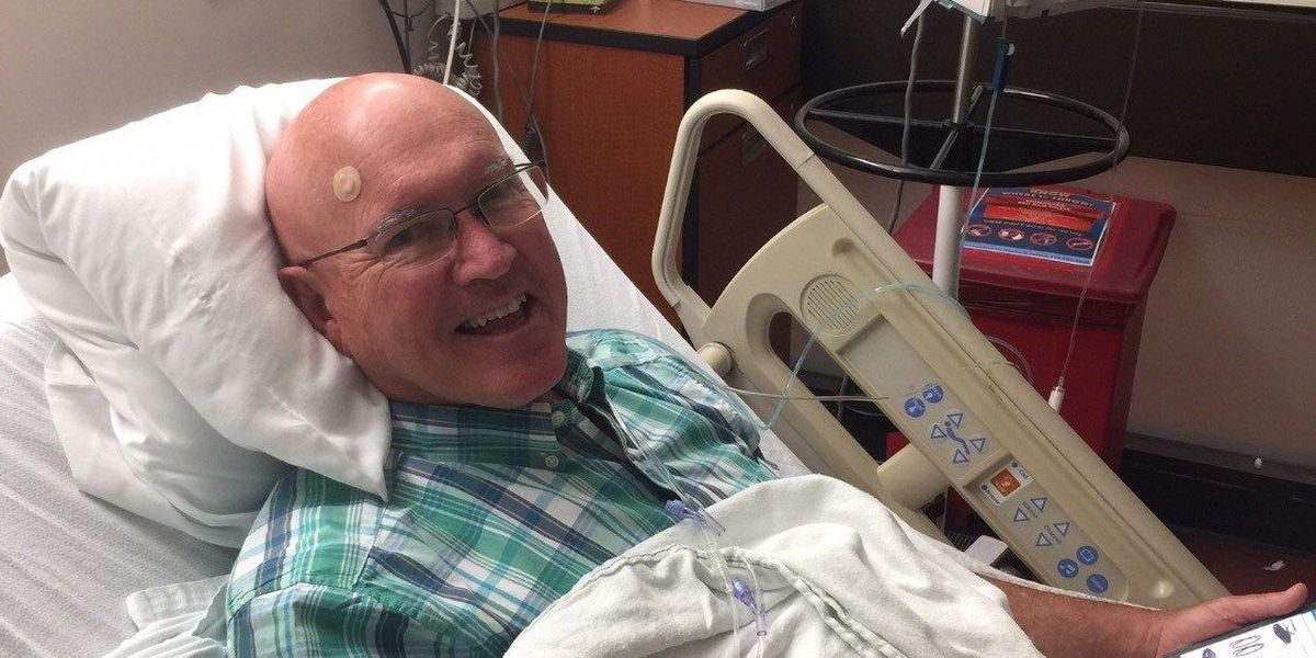 Lufkin man beats cancer with new drug