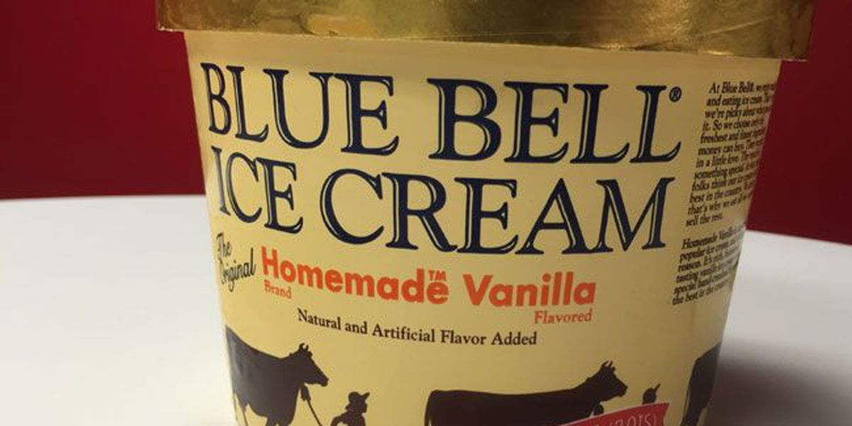Blue Bell ice cream will start reappearing on East Texas store shelves on Dec. 14