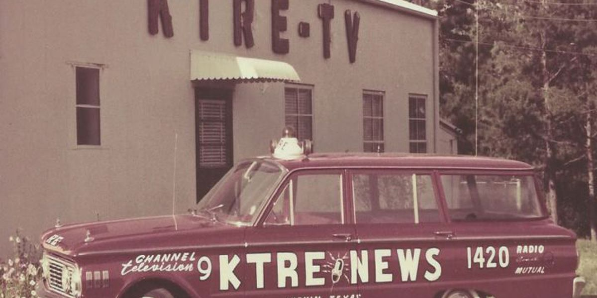 East Texas Throwback: KTRE-TV stays committed to local news 60 years later
