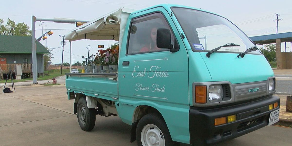 East Texas Flower Truck comes to Lufkin