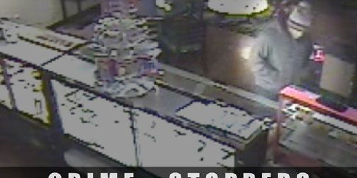 Lufkin Crime Stoppers Crime of the Week: LPD searching for Lunch Box robber