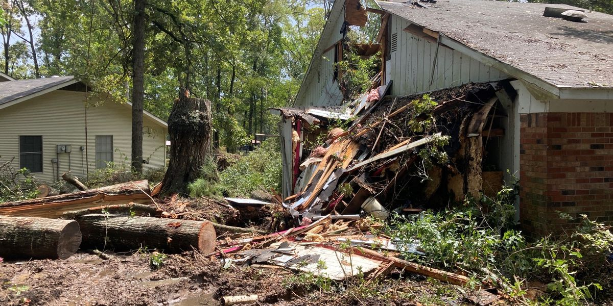 Residents in Deep East Texas urged to report home, business damages