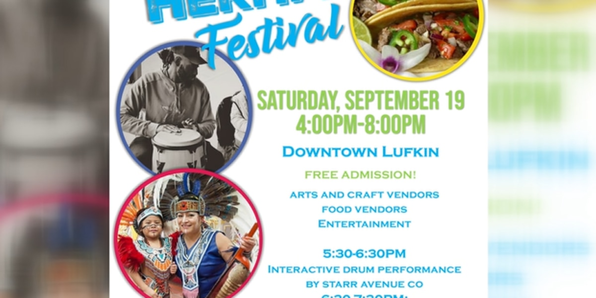 Lufkin Heritage Festival 2020 is still happening with COVID-19 protocols in place