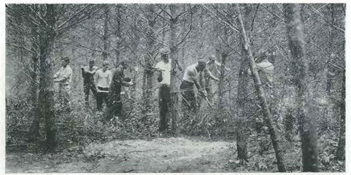 Mark in Texas History: Lufkin Civilian Conservation Corps Camp provided Depression-era jobs
