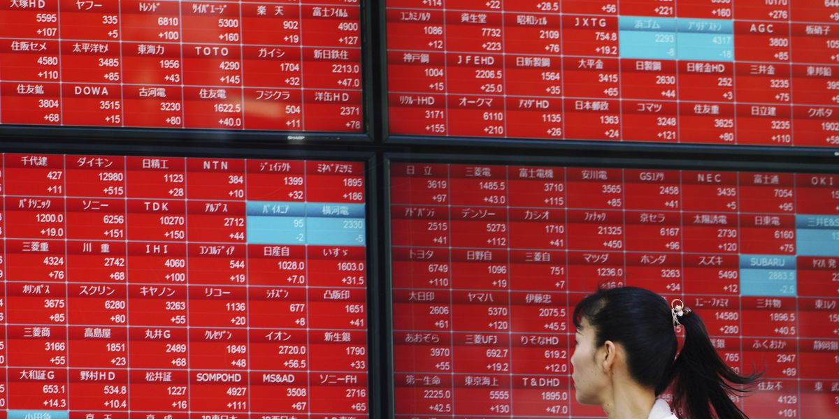 World stocks settle after US election-inspired rally