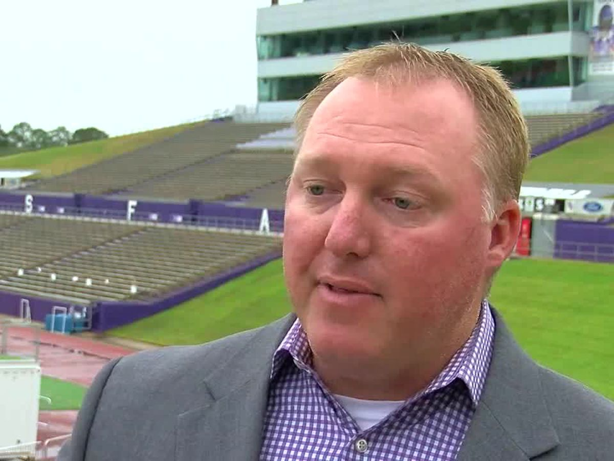 WEBXTRA: SFA athletic director, coach react to NCAA letting college athletes profit from fame