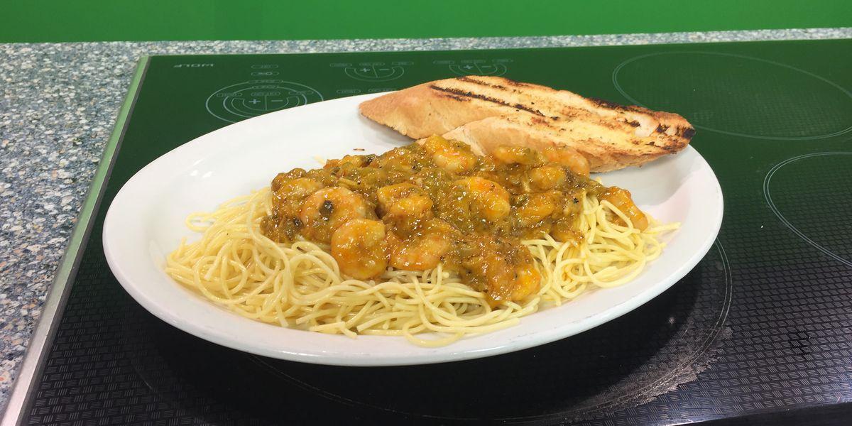 Shrimp Spaghetti by Dudley's Cajun Cafe