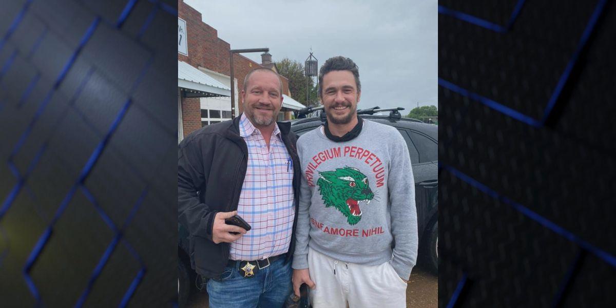 James Franco visits Archer City to buy books