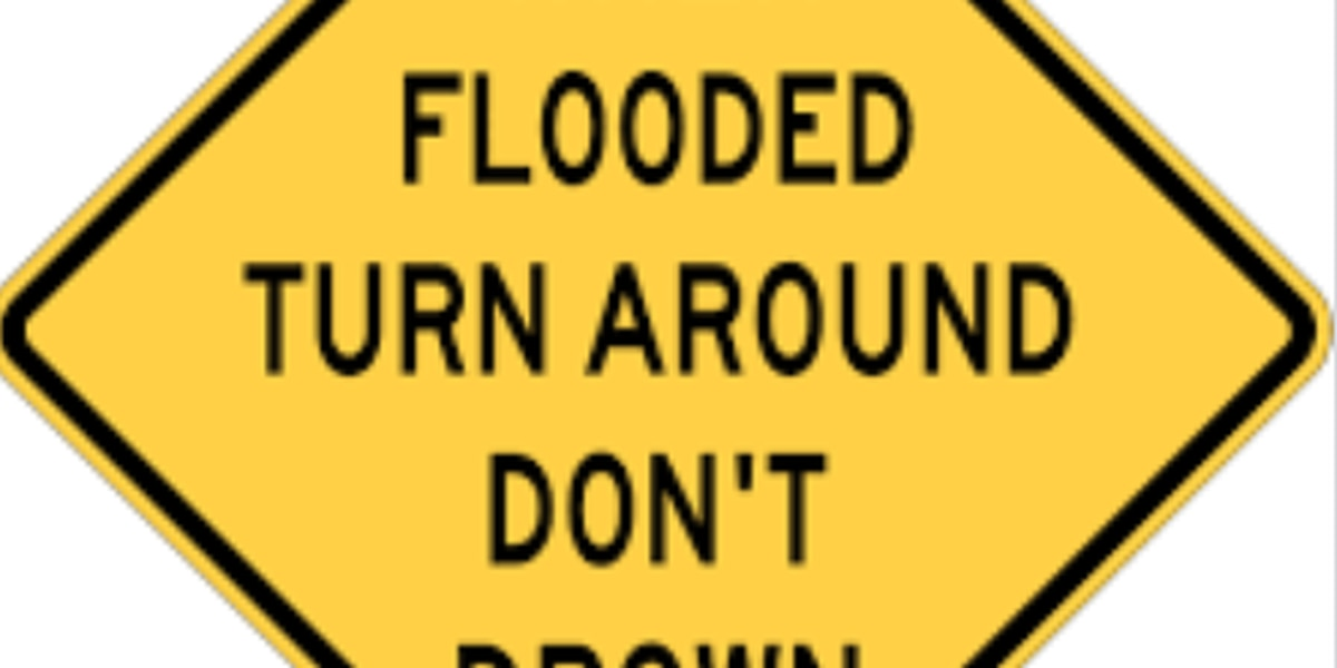 TxDOT warns of several washed out roads in Deep East Texas