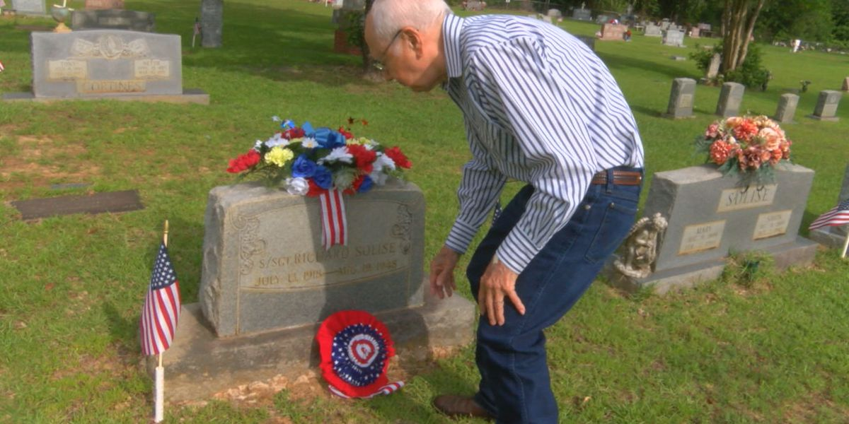 Nacogdoches County resident honors brother he never knew on Memorial Day