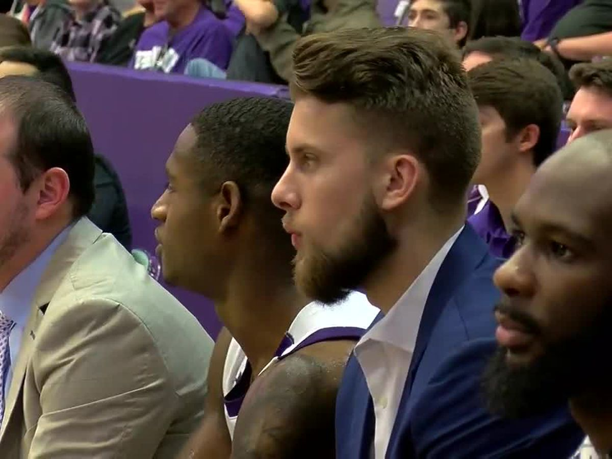 Ivan Canete continues to impact SFA as a student coach