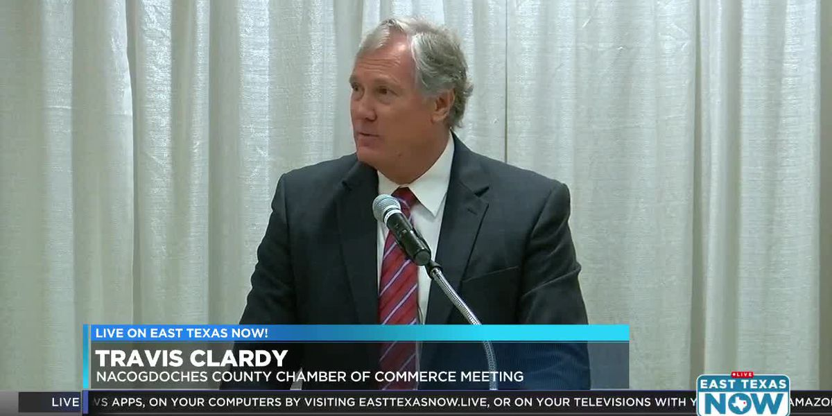State Rep. Clardy discusses legislative session at chamber event