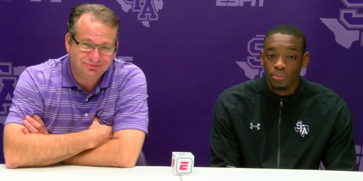 WEBXTRA: SFA Men's basketball continues to shine following win over Baylor