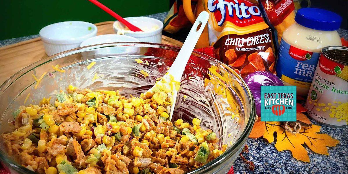 Fiesta corn salad by David Wallace