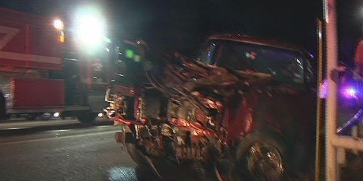 Lufkin man released from hospital after Wed. night wreck on Hwy 69