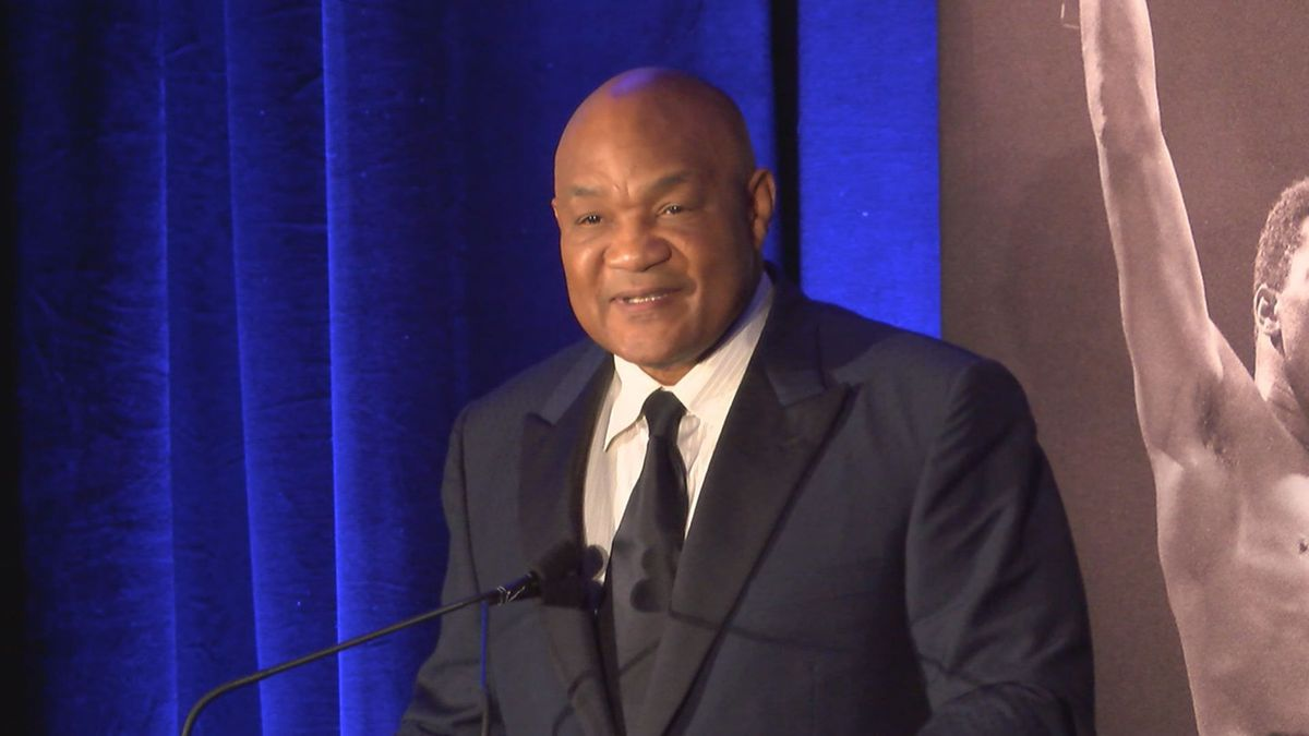 Marshall native, legendary boxer George Foreman in Nacogdoches for film festival