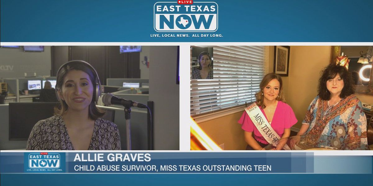 "Abuse survivor, Miss. Texas' Outstanding Teen urges everyone to ""walk a mile"" for children"