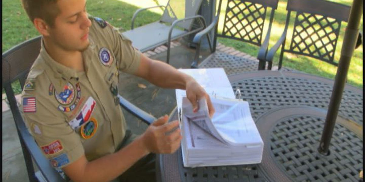 Lufkin Eagle Scout receives organizations most distinguished award