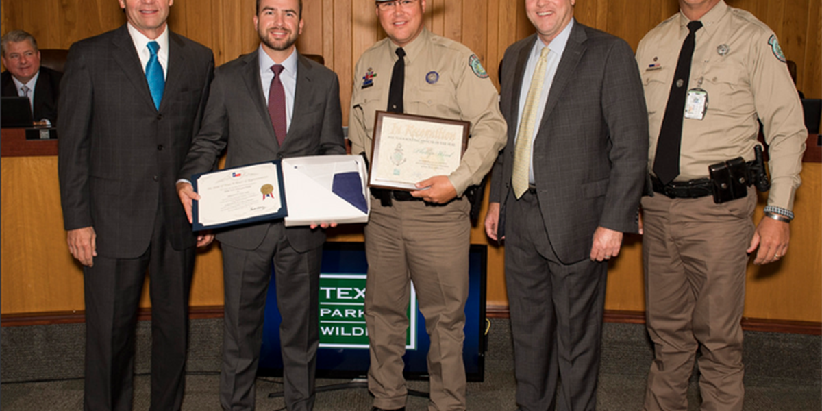 Angelina County game warden named as 2018 Texas Boating Officer of the Year