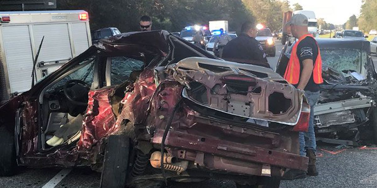Drivers have been identified in two-car accident near Angelina- Polk county line