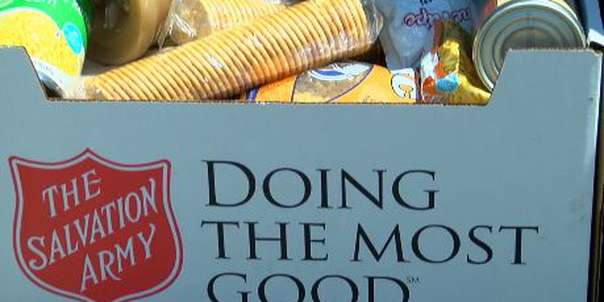Salvation Army of Lufkin revives Great East Texas Food Drive