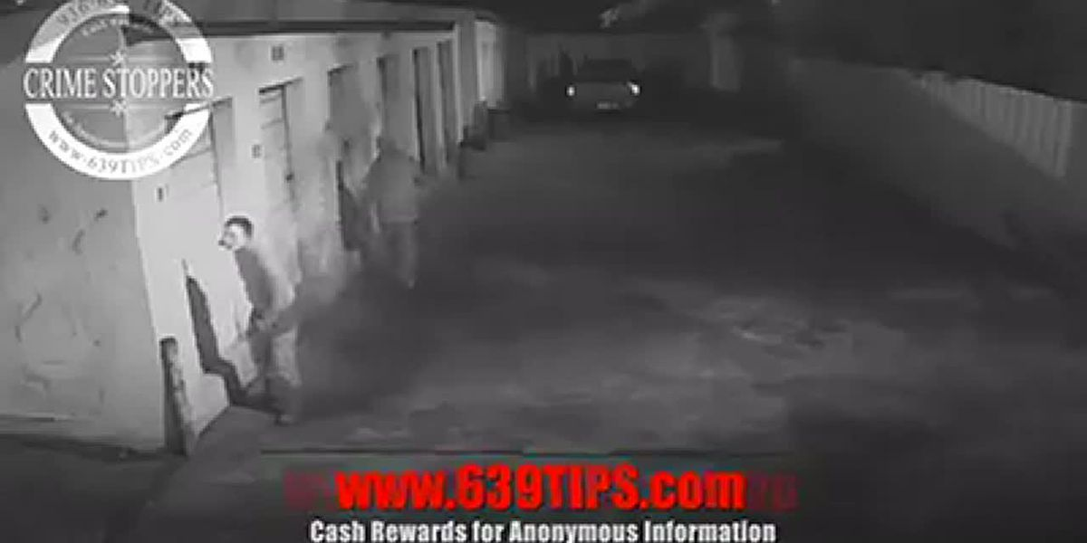 Lufkin storage unit burglary
