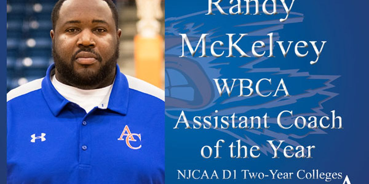 Angelina College's Randy McKelvey named Assistant Coach of Year