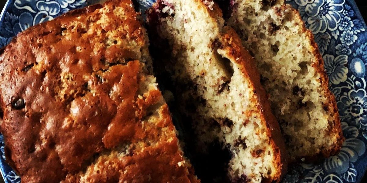 Berry-chocolate chip bread by Mama Steph