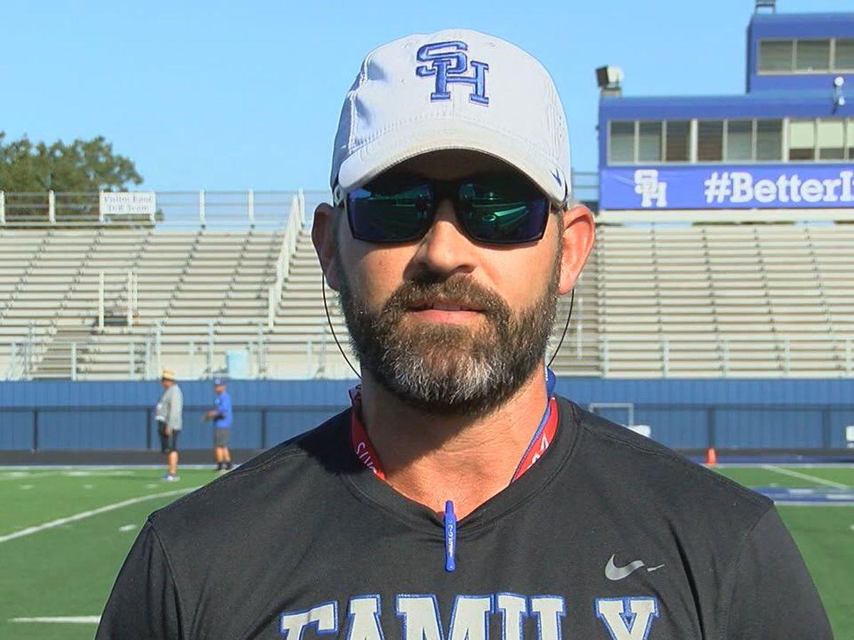 Jonny Louvier named Gladewater's new head football coach