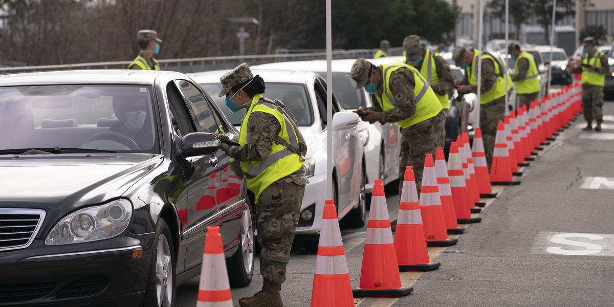 Crippling storm hampers vaccinations as FEMA opens new sites
