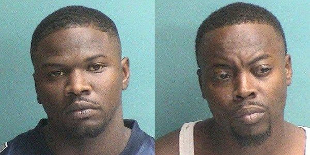 Two men arrested after Nacogdoches robbery