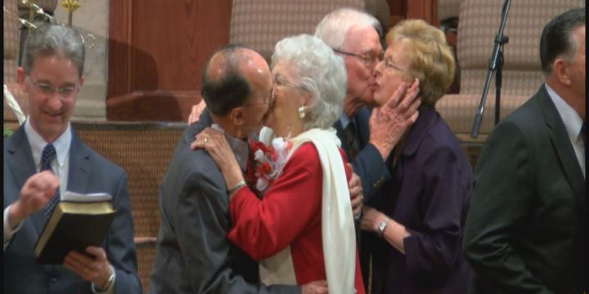 Deep East Texas couples married over 50 years renew vows on Valentine's Day