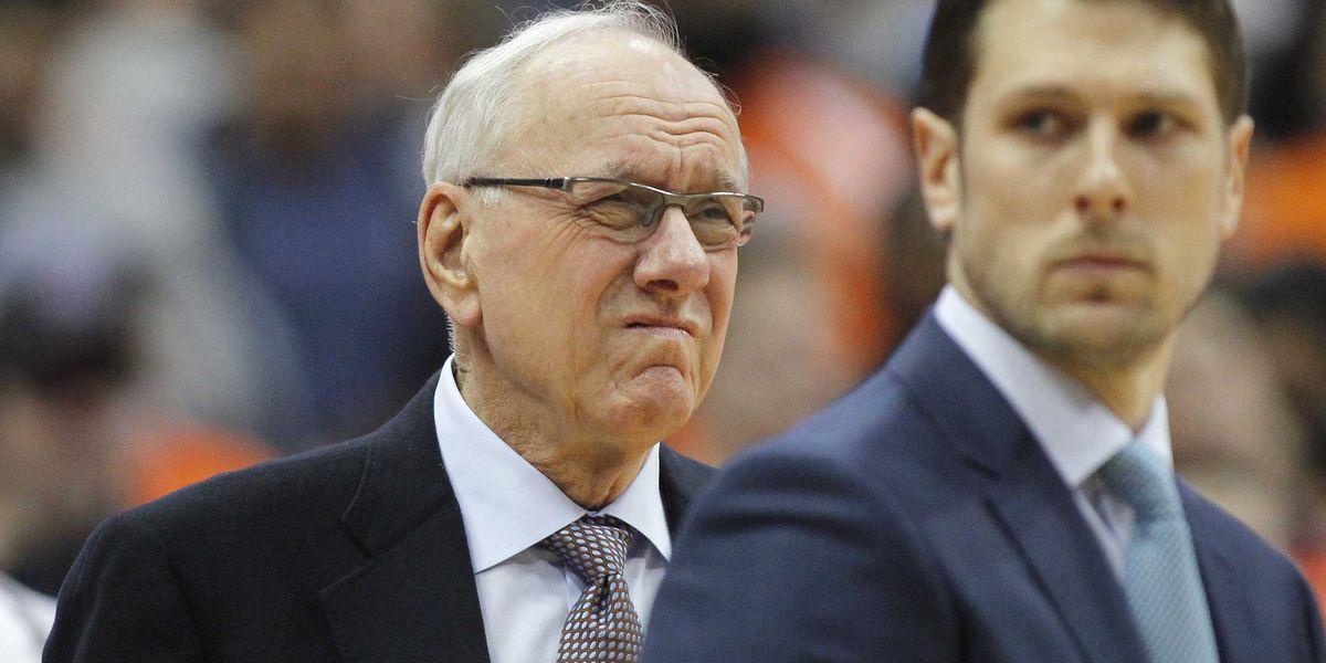 Syracuse coach Jim Boeheim gets loud ovation for Duke game