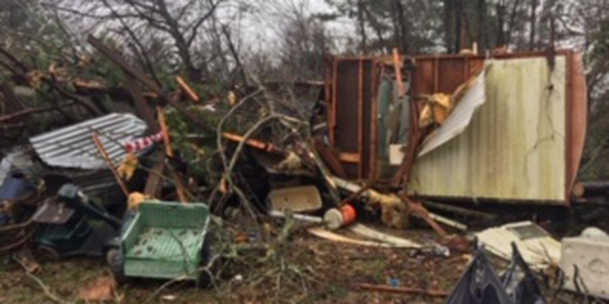 NWS: EF-1 tornado hit Pollok; Alto damage caused by straight-line winds