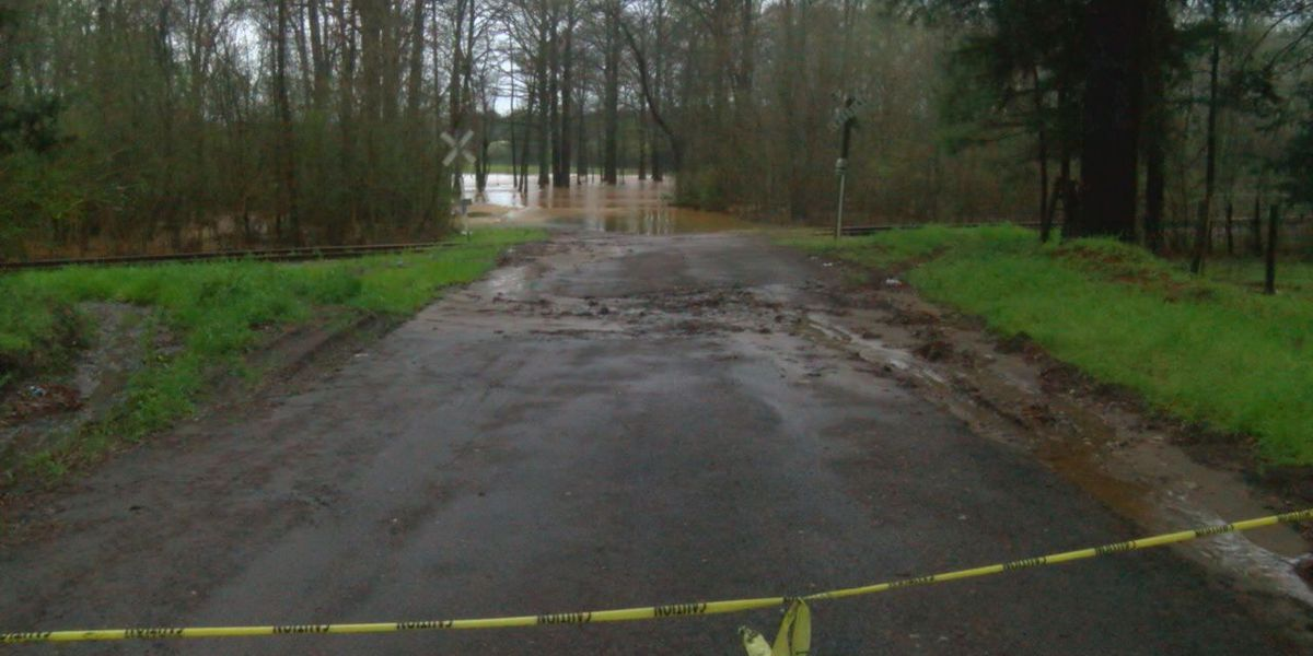 San Augustine experiences heavy rainfall, flooding
