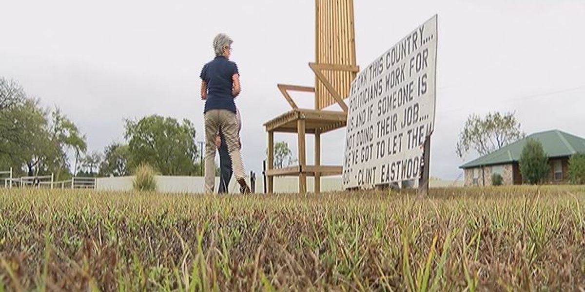 East Texas man honors Clint Eastwood in unique way