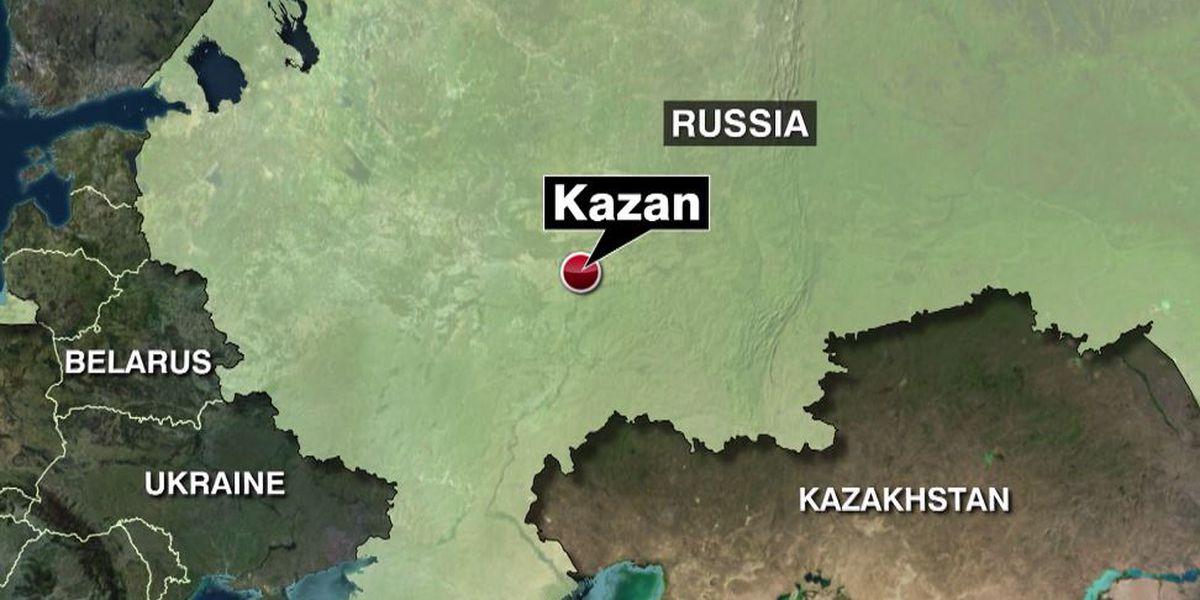 Russian governor: School shooting in Kazan kills 7 students