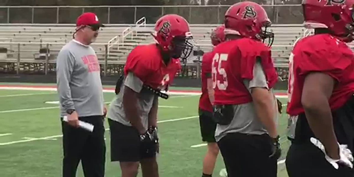 San Augustine hits the practice field ahead of Black Friday match-up with Harleton