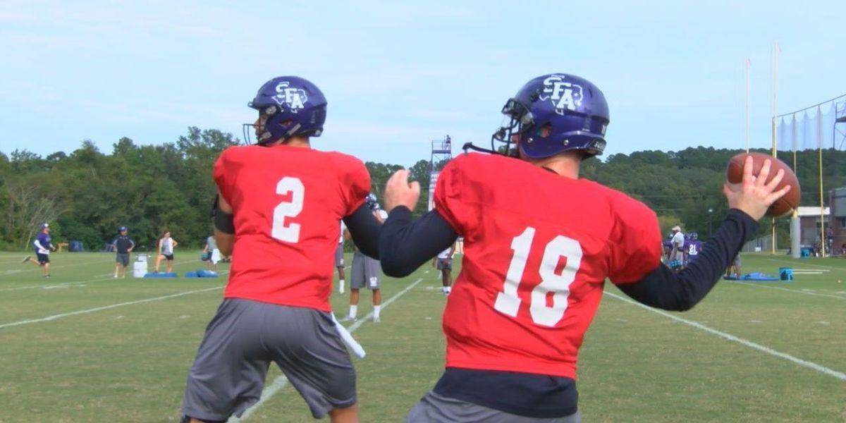 Hunter Taylor convinced two quarterback rotation will work against Sam Houston