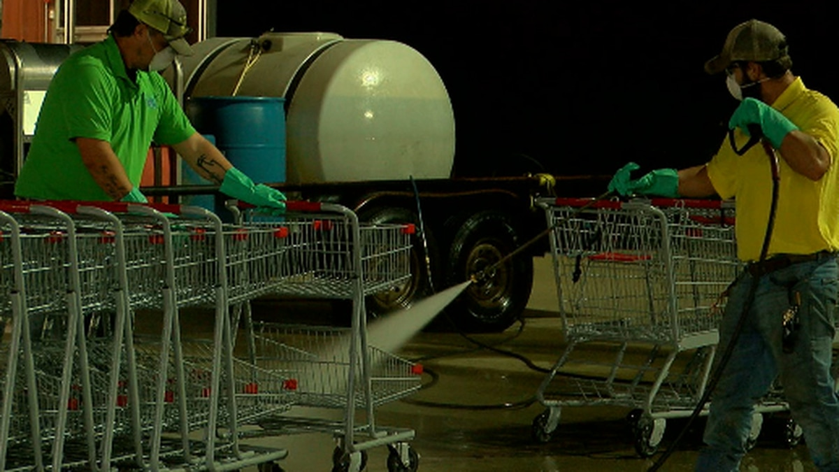 Brookshire Brothers explains process of keeping store shelves stocked during pandemic